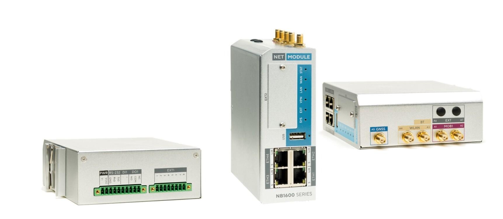 20G/LTE Mobilfunk Industrierouter für IoT Anwendungen   NetModule